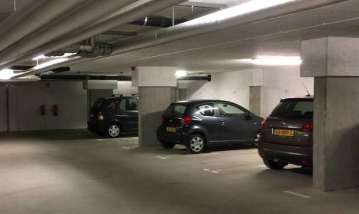 Ervas brandschade betonschade parkeergarage hersteld