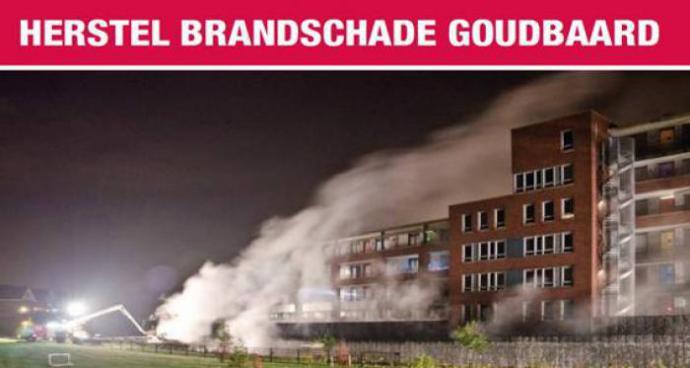 Ervas Herstel brandschade parkeergarage Bergen op Zoom