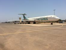 Injecteren Banjul Airport Gambia door Ervas